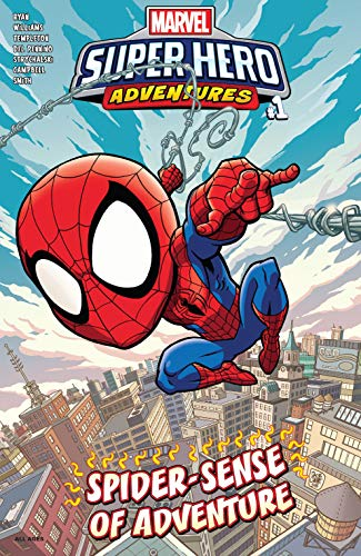 Marvel Super Hero Adventures: Spider-Man - Spider-Sense Of Adventure (2019) #1 (Marvel Super Hero Adventures (2018-)) (English Edition) (Spider Sense Spider-man)