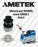 Serie 5850S Motor Ametek Einlassventil für Bodenwischer Wirbel