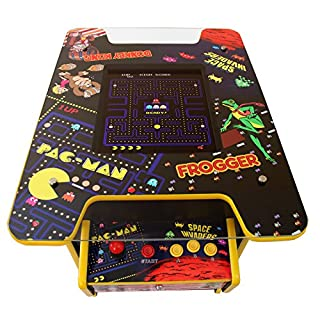 Monster Shop Cocktail Table Retro Arcade Games Machine / Full Size 2 Player 60 Classic Video Games Coin Operated