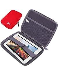 DURAGADGET Funda Rígida Rojo para La Tablet Archos 70 Helium - ¡Guarde Su  Tableta De 9151191e68a1