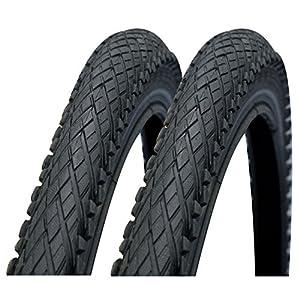 Impac Crosspac 700 x 38c Hybrid Bike Tyres (Made by Schwalbe) - Pair
