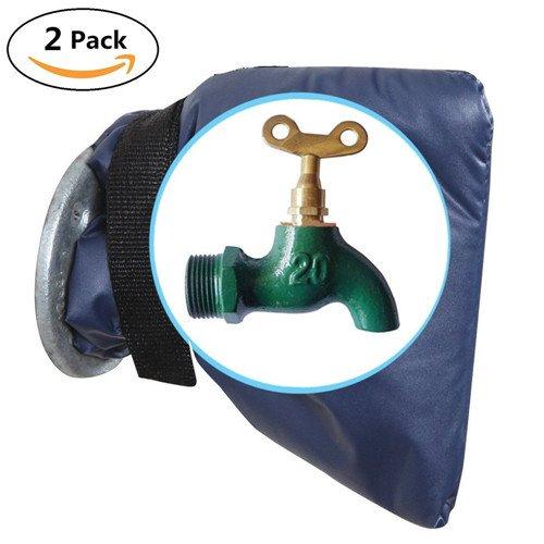2er-Pack Wasserhahnschutzhüllen gegen Frost, für draußen Outdoor-rohr-isolierung, Abdeckung