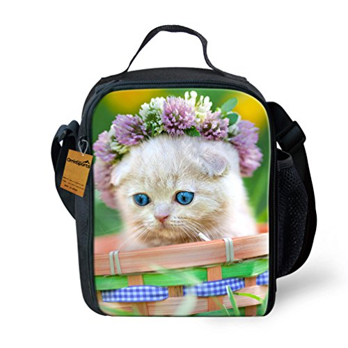 orrinsports-3d-print-insulated-lunch-bag-totes-keep-hot-and-cold-for-kids-flower-cat-by-orrinsports