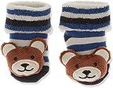 Sterntaler Jungen Baby-Rasselsöckchen Socken, Blau (Marine 300), One Size (15/16)