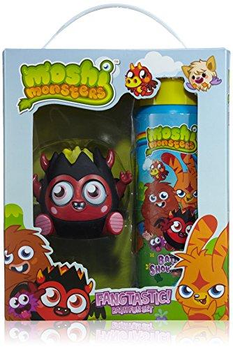 Moshi Monsters Fangtastic Bath Fun Set - Bade - und Duschgel 250 ml, Diavlo Badespritzer, 1er Pack (1 x 0.375 kg) (Bella B-geschenk-set)