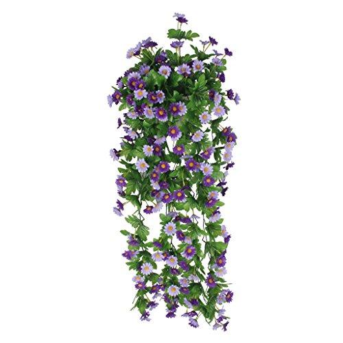 Piante artificiale vite di fiore margherita glicine appeso - Edera da interno ...