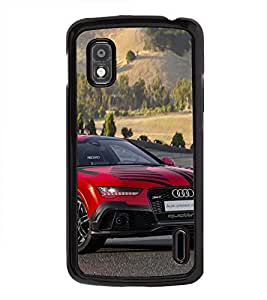 Vizagbeats Audi Car Back Case Cover for GOOGLE NEXUS 4