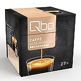 Qbo Kapseln - Caffè Alta Mogiana (Kaffee, nussig, 100% Arabica) (8x27 Kapseln)