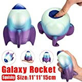Gaddrt 15cm Squishy Jumbo Rocket parfumé charme lente Rising squeeze stress soulagement du jouet