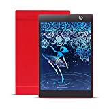 IMBM STYLE Colorful 9.7 Pollici Digital Portable LCD Scrittura Tablet Tablet E-Writer Paperless Notepad Tavolo da Disegno Pen Box Bag per Draw,Red