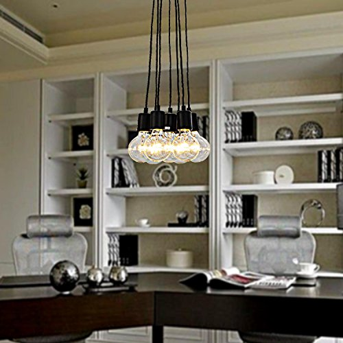 lampadario 7-testa semplice ed elegante per salotto, camera da letto lampadario europeo stile, moderno e alla moda per chandelier sala da pranzo