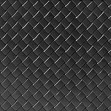 Truhe mit klappbarem Deckel Matuba | anthrazit | praktische Haltegriffe | Flechtoptik | Tischtruhe Spielzeugtruhe Auflagenbox | Modelauswahl/Farbauswahl - 3