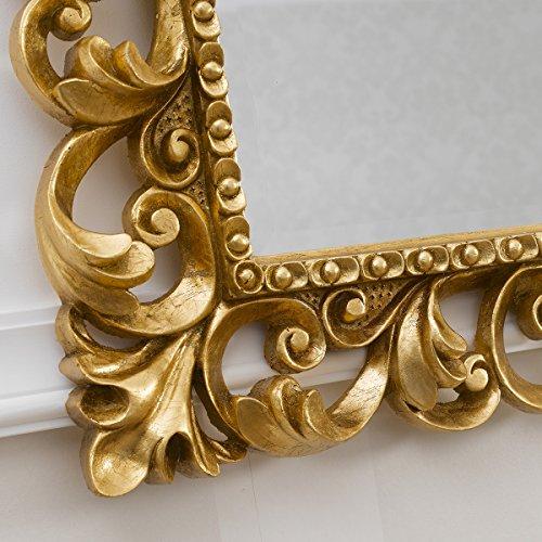 Specchiera specchio cornice traforata barocco foglia oro - Specchio cornice oro ...