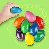 RenFox Crayones de Huevo con los Dedos para Ni?os, Agarre de Palma de la Mano, Producto Seguro y No Tšxico, Colorful Painting Crayons Toys(9 Color)
