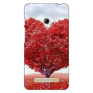 Jugaaduu Valentines Back Cover Case For Asus Zenfone 5