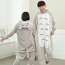 1df81034ff CWJ Unisex Pijamas para Adultos - Peluche de una Pieza Cosplay Animal Traje  Invierno Espesamiento Ocio