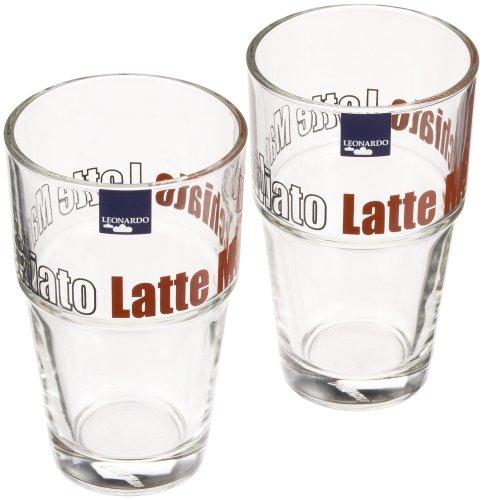 Leonardo 86430 Becher Solo Latte Macchiato 2er-Set