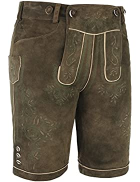 Michaelax-Fashion-Trade Spieth & Wensky - Herren Trachten Lederhose, Hugo (009292-0256)
