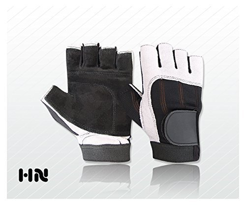 Fitness Gym Leather – Weight Lifting Gloves