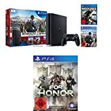 PlayStation 4 - Konsole (1TB, schwarz,slim) inkl. Watchdogs + Watchdogs2 + For Honor