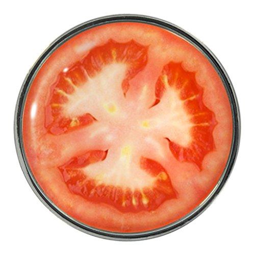 Tomate Slice Design Metall-Pin Badge (Tomaten Pin)