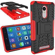 BCIT XiaoMi RedMi Note 3/Note 2 Pro Cover - Alta calidad Escabroso Durable Estuche protector TPU/PC funda carcasa case para XiaoMi RedMi Note 3/Note 2 Pro - Rojo