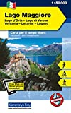 Italien Outdoorkarte 08 Lago Maggiore 1 : 50.000: Lago di Varese, Locarno-Lugano. Wanderwege, Radwanderwege, Nordic Walking, Skilanglauf, Skitouren (Kümmerly+Frey Outdoorkarten Italien) - Kümmerly + Frey