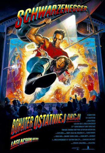 Last Action Hero Affiche du film Poster Movie Héros d'action dernier (11 x 17 In - 28cm x 44cm) Polish Style A
