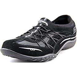 Skechers Relaxed Fit respirare facile City Lights Womens Bungee Sneakers