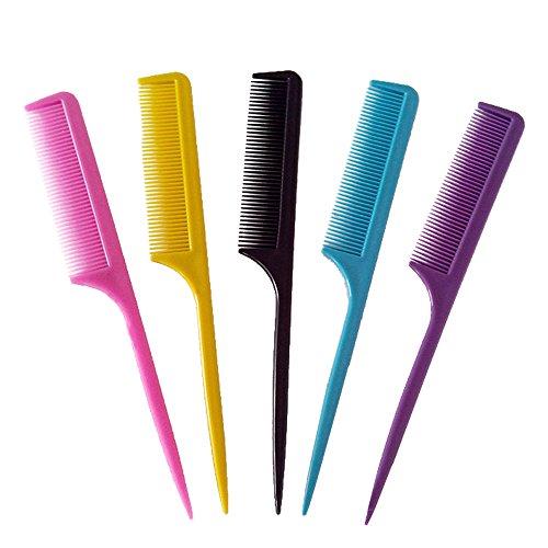 Vococal® 10 Pièces Peigne pour Coiffure en Plastic Couleur Aléatoire