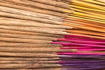 Bastoncini di incenso naturale indiano, profumo gelsomino, 200 grammi