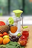 #9: Ketsaal Fruits and Vegetable Juicer with Steel Handle