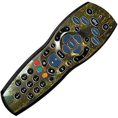 120 Collection, + Custom mando a distancia para Sky hd r42 de vinilo de fibra de carbono de vinilo adhesivo,  - Van Gogh - Cottage, Sky + hd r42