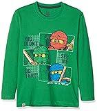LEGO Wear Jungen Lego Ninjago M-72639-Langarmshirt, Grün (Green 867), 116