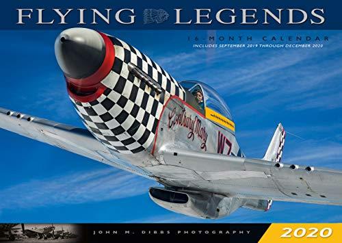 Flying Legends 2020: 16 Month Calendar  September 2019 Through December 2020 (Calendars 2020)