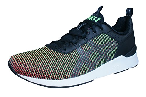Asics Gel-Lyte Runner, Zapatillas de Running Unisex Adulto, Verde (Gecko Green/Guava), 47 EU