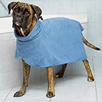 Trixie Dog accappatoio, M, 50cm, Blu