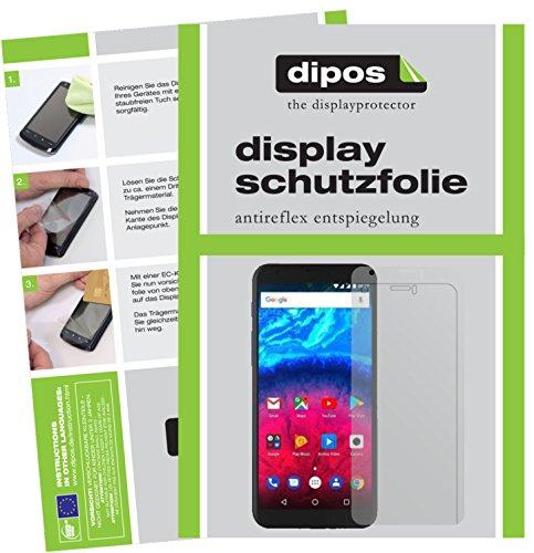 dipos I 6X Schutzfolie matt passend für Archos Core 60S Folie Bildschirmschutzfolie