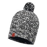 Buff Knitted und Polar Hat Margo Mütze, Grey, One Size