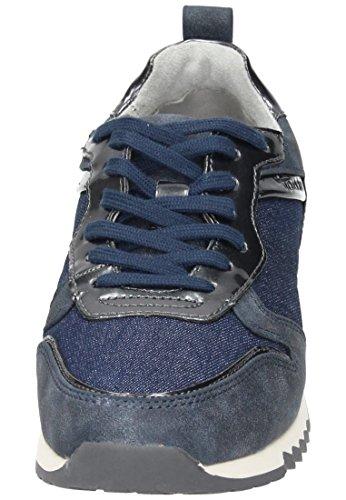 Tamaris  1-1-23601-28-853, Chaussures à lacets et coupe classique femme 853DENIM COMB