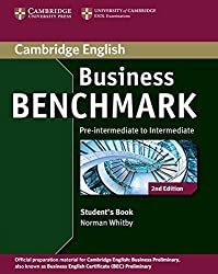 Business Benchmark Pre-intermediate to Intermediate Business Preliminary Student's Book (Cambridge English) by Norman Whitby (2013-10-31)
