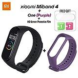 Xiaomi Mi Band 4 Bracelet à bande intelligente avec écran couleur Surveillance du sommeil Étape Compteur de calories Fitness Tracker Étanche Sans Fil Bluetooth 5.0 Bracelet pour Hommes et Femmes