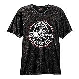 HARLEY-DAVIDSON Grunge Road T-Shirt And Warr's London in Sepia Back (Medium)