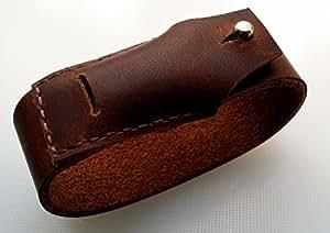 Fait à la main en cuir véritable personnalisé bracelet Bracelet de rechange Fitbit Flex Marron