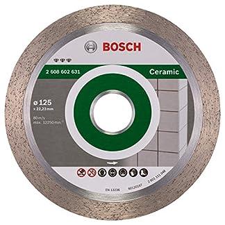 Bosch 2 608 602 631 – Disco de corte de diamante Best for Ceramic – 125 x 22,23 x 1,8 x 10 mm (pack de 1)