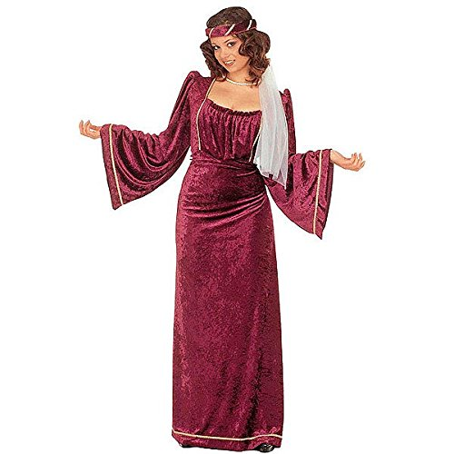 Widmann WID35053 - Costume per Adulti Giulietta, Multicolore, L