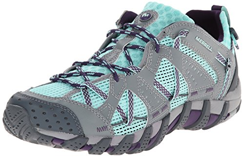 Merrell WATERPRO MAIPO, Scarpe da barca/regata donna, Multicolore (ADVENTURINE/PURPLE), 38