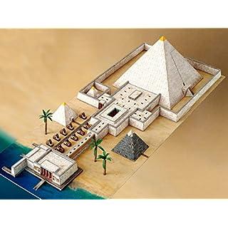 Aue-Verlag 70 x 30 x 13 cm Pyramid with Valley Temple Model Kit