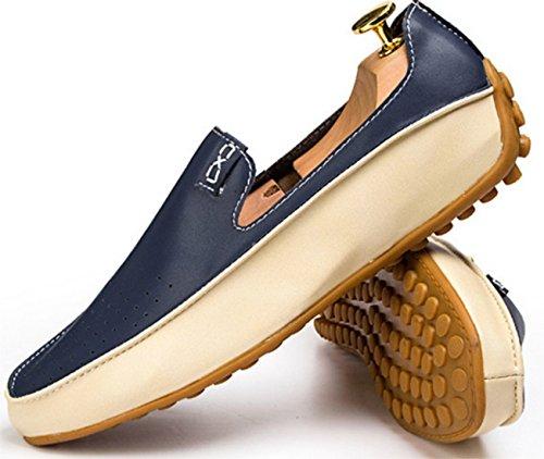 DADAWEN Hommme chaussures de loisirs Bleu