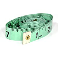 Twin Scale (cm / cun) Sewing Tape Measure 150cm Dressmaking Tailor (Green)